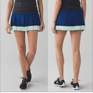 Lululemon pleat you street skirt
